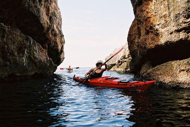 Seekajak Split Trogir Dalmatia