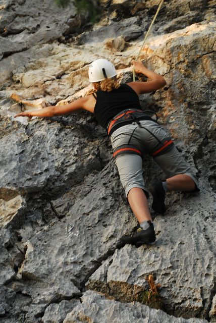 free climbing Split and Trogir area