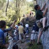 rock climbing Adriatic, Croatia